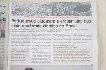 Jornal de Portugal traz reportagem especial sobre Maringá
