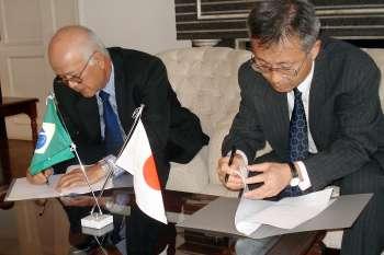 Parque do Japão recebe doação de Programa de Assistência a Projetos Comunitários do Governo Japonês