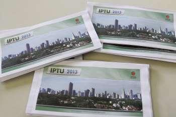 Contribuintes receberão até esta quarta- feira as Guias de pagamento do IPTU