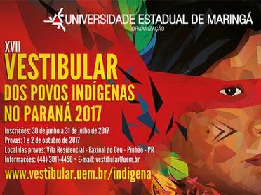 Inscrição para o Vestibular Indígena abre nesta sexta-feira (30)