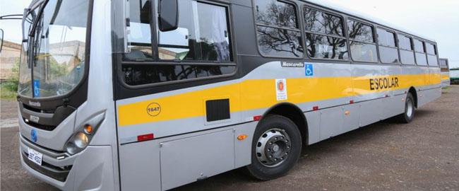 Educação renova frota de transporte escolar com 10 novos ônibus