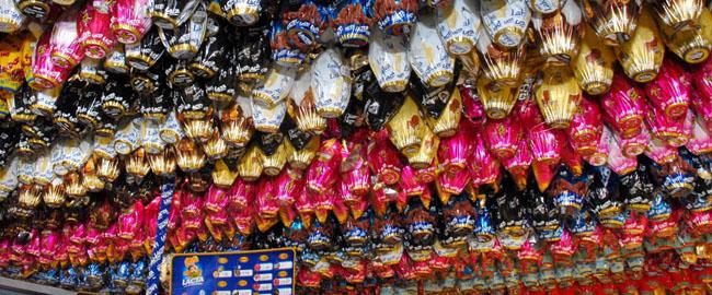 Variação entre preço de chocolates de Páscoa pode chegar a 95 %