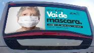 Governo do Paraná lança campanha para incentivar uso de máscaras nos ônibus