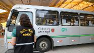 Confira como foi o primeiro dia de fiscalização no Terminal Urbano de Maringá após decreto