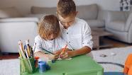 Veja dicas de como distrair as crianças em casa durante o isolamento social