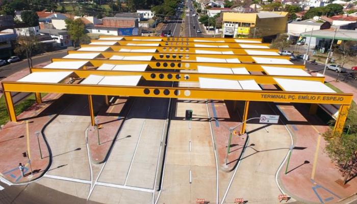 Finalizada mais uma etapa dos corredores exclusivos de ônibus