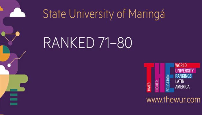 UEM está entre as principais universidades da América Latina