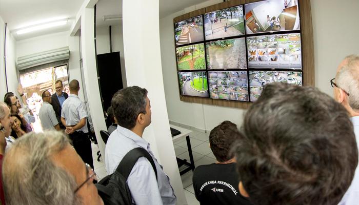 UEM inaugura Central de Monitoramento de Segurança