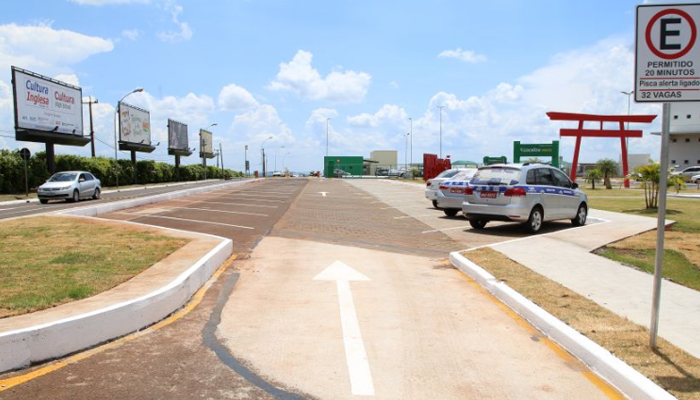 Obras aumentam estacionamento no aeroporto para 68 vagas