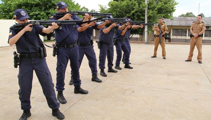 GM inicia prática de tiro com calibre 12 nesta quinta-feira (14)