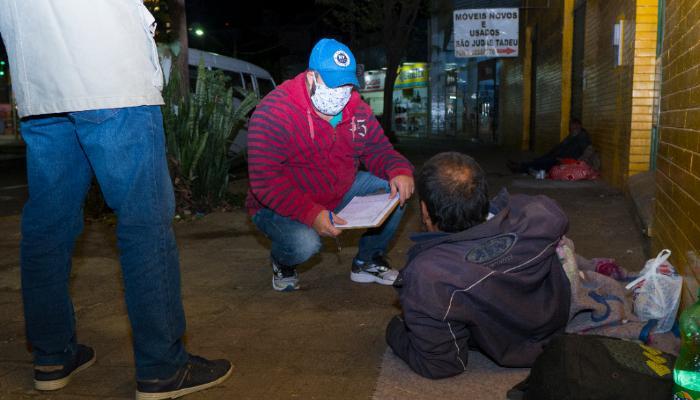 Acolhimento de pessoas em situação de rua registrou 98 atendimentos nas últimas 24 horas