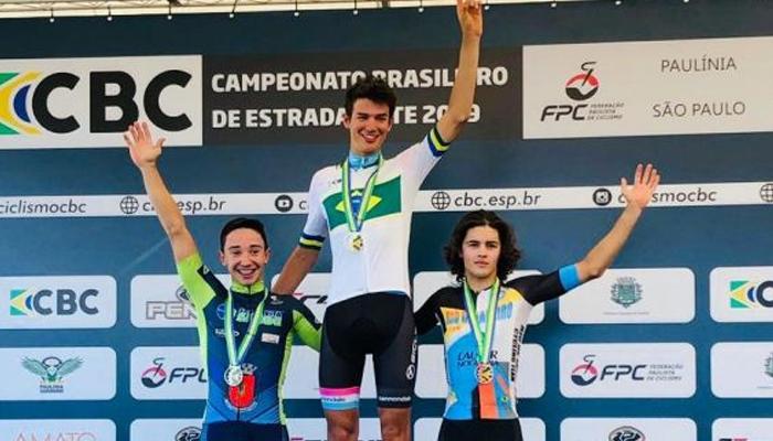 Maringaense conquista 2ª colocação no Brasileiro de Ciclismo de Estrada