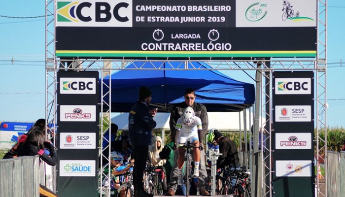 Brasileiro de Ciclismo Junior retoma nesta terça (9), em Maringá.