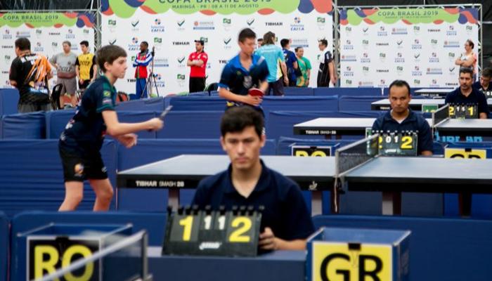 Maringá conquista primeiras medalhas na Copa Brasil de Tênis de Mesa