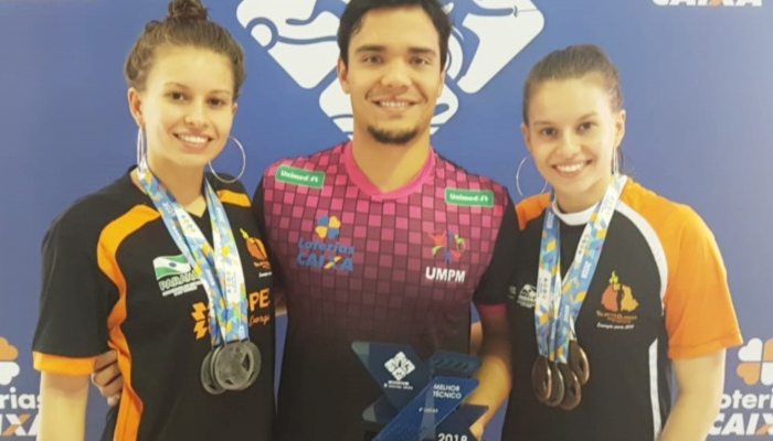 Atletas maringaenses de natação viajam para os Jogos Parapan-Americanos, em Lima