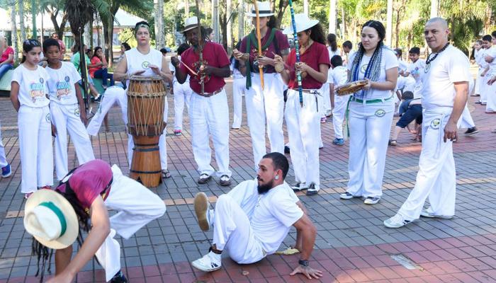 Semana da capoeira traz apresentações e oficinas para o público