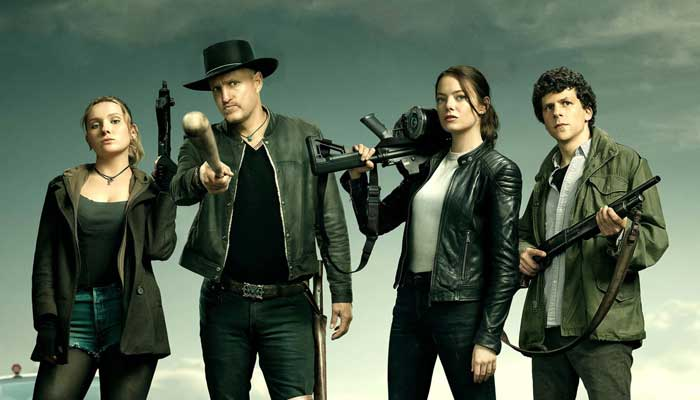 Após 10 anos, 'Zumbilândia 2' chega aos cinemas e é a grande estreia da semana