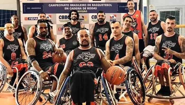 Kings Maringá é campeão brasileiro de basquete em cadeira de rodas