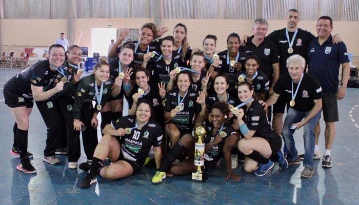 Times feminino e masculino de Handebol conquistam Campeonato Paranaense