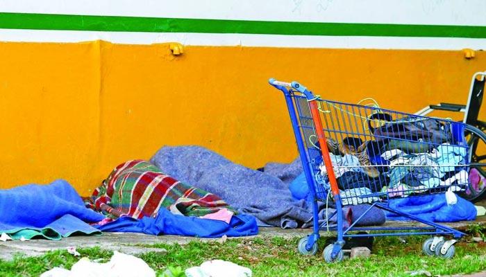 Índice de população em situação de rua teve aumento de 27% em Maringá