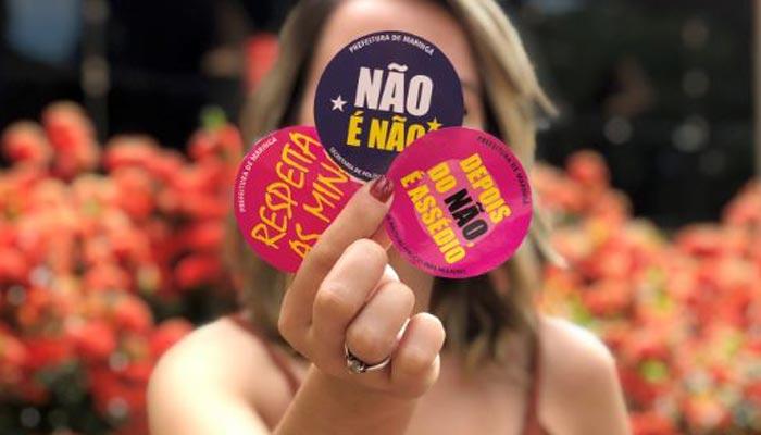 Conscientização contra o assédio é promovida pela prefeitura no Carnaval 2020