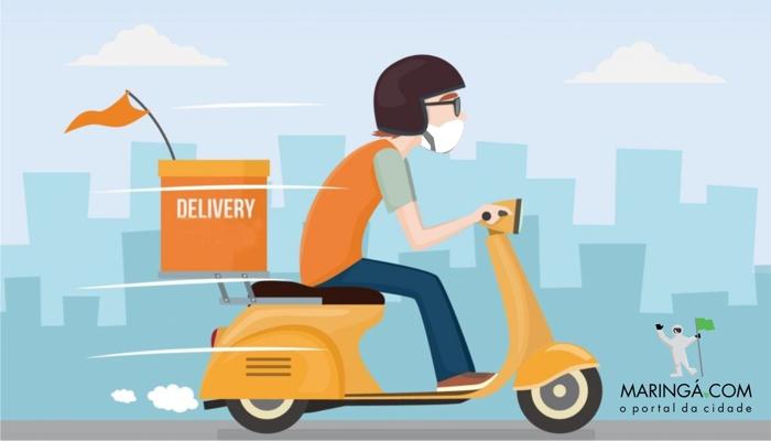 Nova seção do Maringá.Com apresenta comércios com delivery na cidade