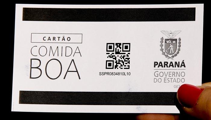 Cartões do auxílio 'Comida Boa' começam a ser distribuídos em Maringá