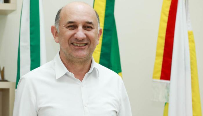 Vice-prefeito de Maringá, Edson Scabora, tem resultado positivo para coronavírus
