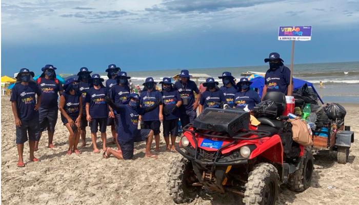 Veranistas geram 9% mais lixo nas praias do Paraná
