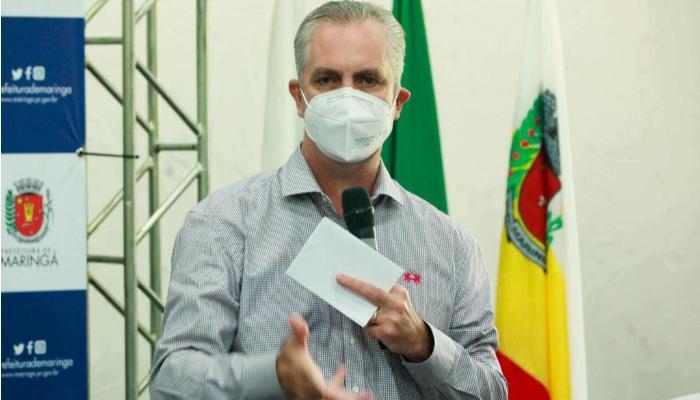 Maringá não vai receber pacientes de cidades que não aderiram restrições, diz prefeito
