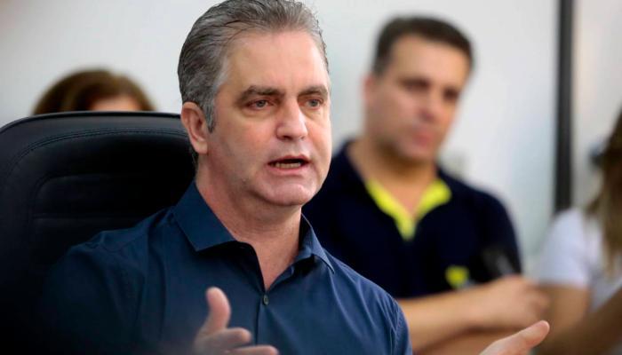 Ulisses Maia participa de reunião com o ministro da Saúde, Eduardo Pazuello