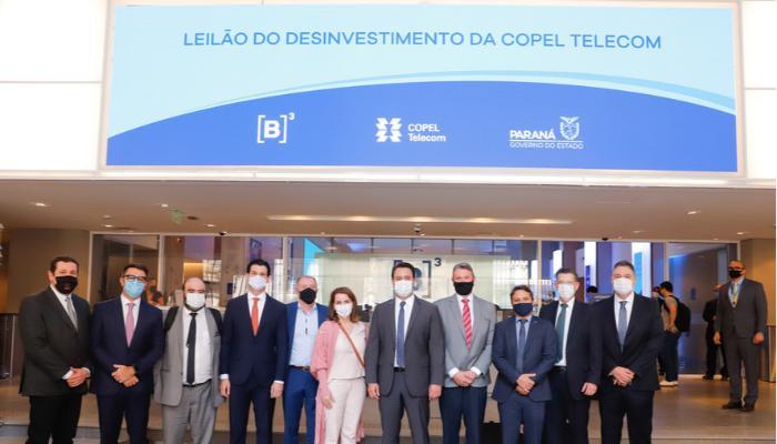 Leilão da Copel Telecom arrecada R$ 2,39 bilhões