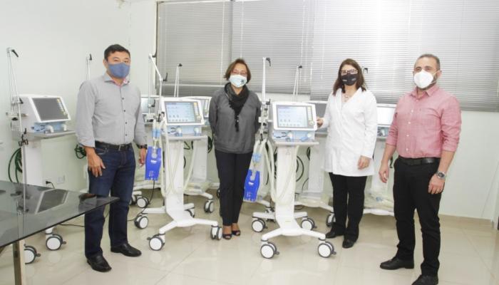 HUM recebe doação de ventiladores para o tratamento de pacientes com Covid-19