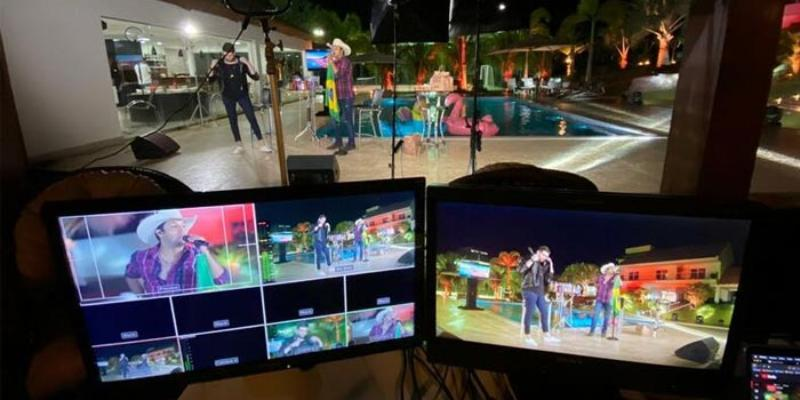 Shows online ganham cada vez mais destaque, confira a programação de lives