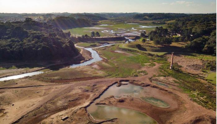 Redução no consumo de água foi de 14% na Região Metropolitana de Curitiba, centro da seca no Estado