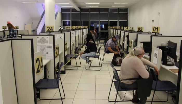Paraná registrou alta de 92% na inserção de trabalhadores no mercado em julho