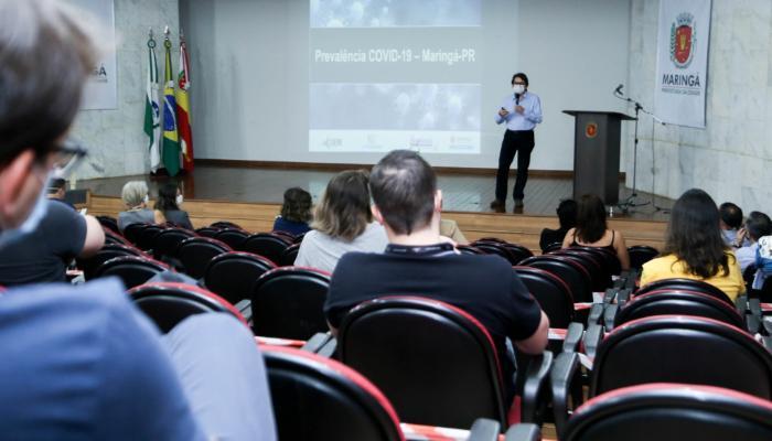Pesquisadores da UEM apresentam resultados sobre a disseminação da Covid-19 em Maringá