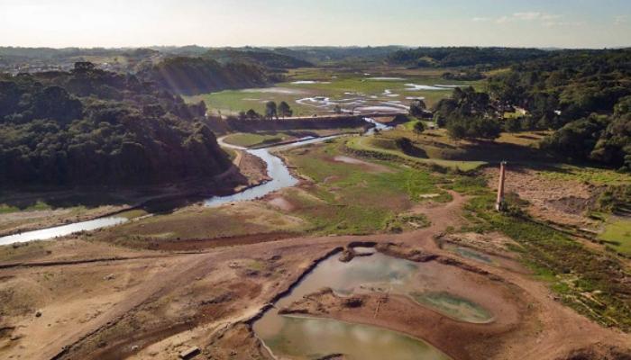Paraná registra seca grave em 61% do território em setembro
