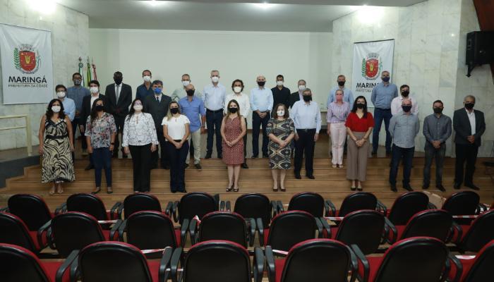 Novos secretários municipais são recepcionados por Ulisses Maia e Edson Scabora