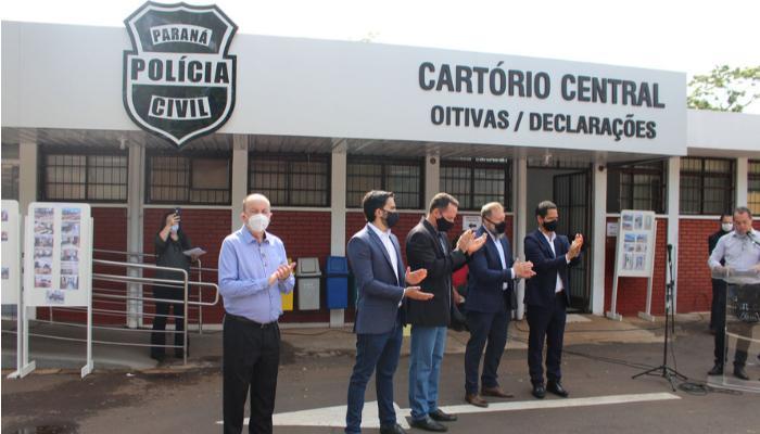Maringá recebe obra na Delegacia de Homicídios e nova Central de Flagrantes