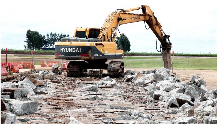 Obras no Aeroporto de Maringá chegam em fase final